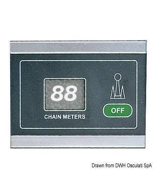 Compteur chaîne capteur à induction 12/24V 99m