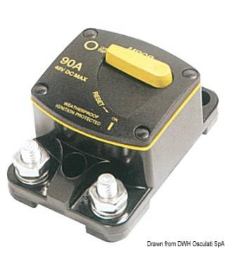 Coupe-circuit extérieur 50A pour guindeaux et hélices