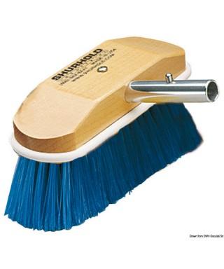 Brosse 8 pouces fibres souples bleu