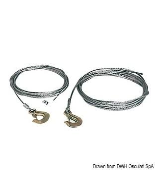 Câble pour treuil 5 mm x 6 m