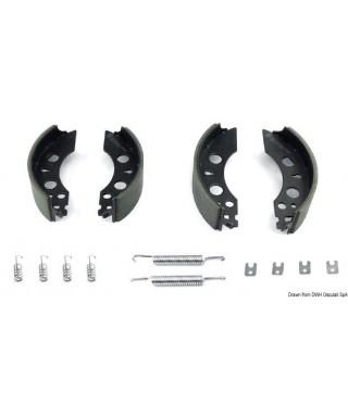 Kit freins pour remorque BPW S2504-7 RASK 250x40mm