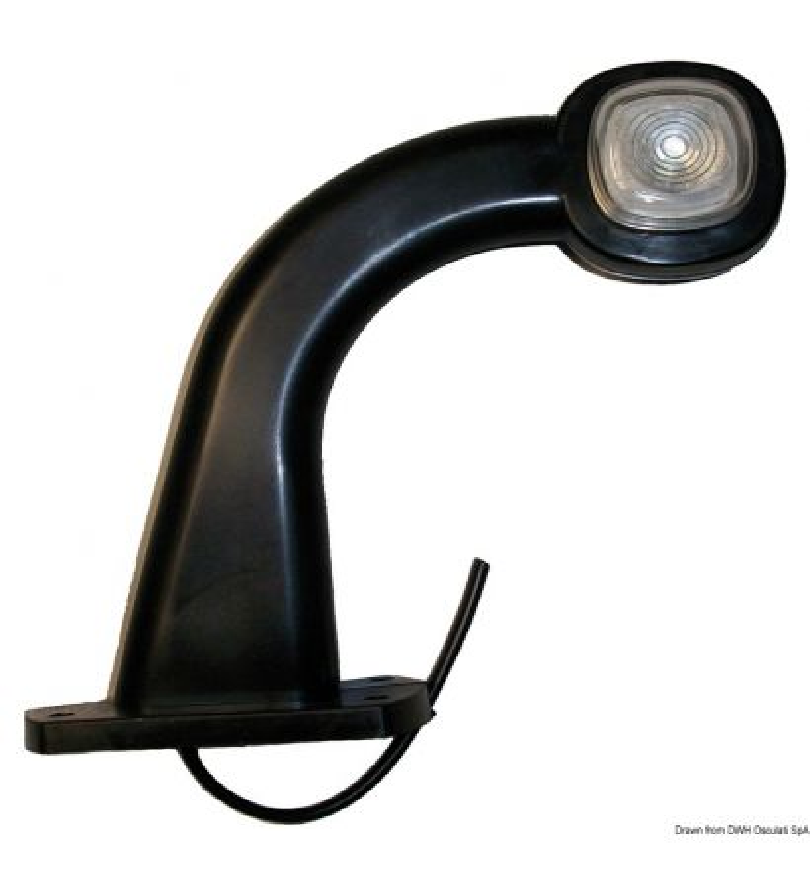 Feu à LED d'encombrement latéral 90°