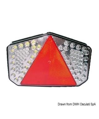 Feu à LED arrière gauche