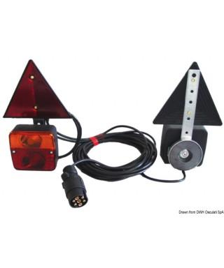 KIt feu arrière fixation magnétique avec triangles