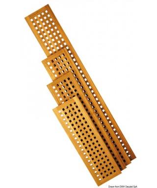 Caillebotis teck 1000 x 300 mm planchers ou passerelles épaisseur 22mm