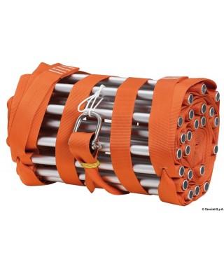 Echelle de mat hauteur 14m couleur orange