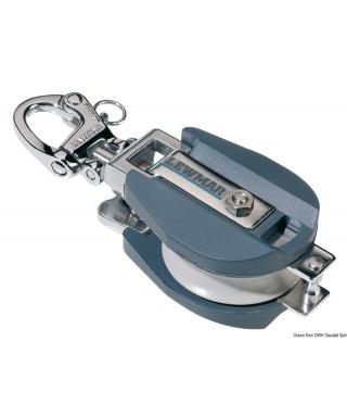 Poulie en aluminium LEWMAR diamètre 80 mm bout max 16mm