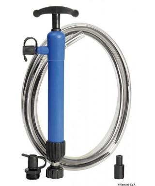 Pompe manuelle pour aspiration huile tuyau 390 mm