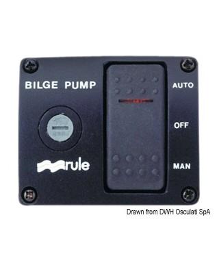 Interrupteur Rule DeLux pour pompes de cale 12V 3 positions
