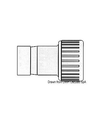 Réduction Hydrofix mâle/femelle 22/15 mm