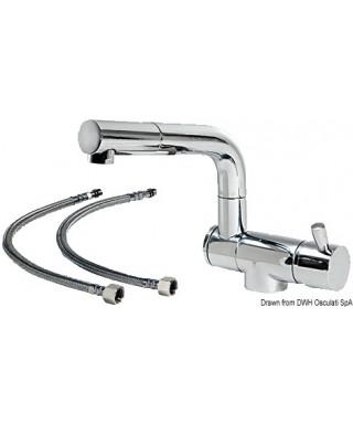 Mélangeur rabattable double articulation eau ch/fr
