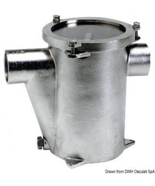 """Filtre eau refroidissement moteur Inox 316 RINA 1""""1/2"""