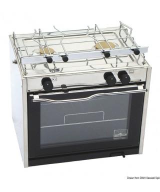CuisinièreTECHIMPEX Compact 2 feux avec four