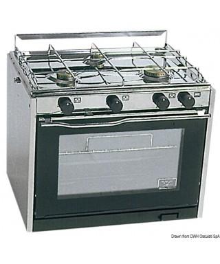 CuisinièreTECHIMPEX XL3 3 feux avec four