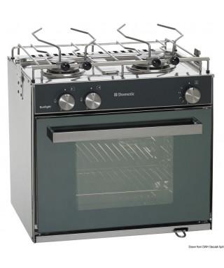 Cuisinière à gaz 2 feux avec four DOMETIC Slim Sunlight