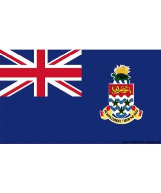 Pavillon nationale Îles Caïmans 20 x 30 cm de courtoisie
