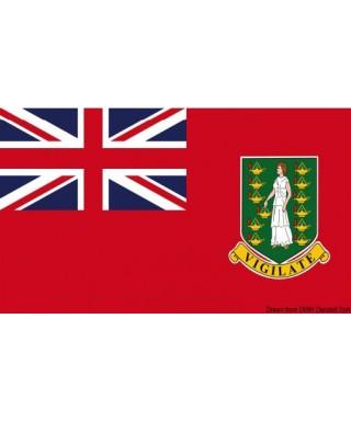 Pavillon marine Iles Vierges Britanniques 40x60 cm