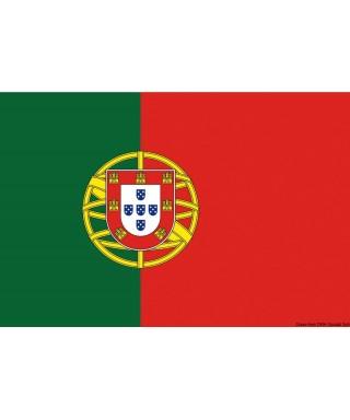 Pavillon Portugal 20 x 30 cm en tissu de polyester teintes indélébiles