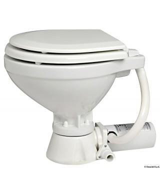WC électrique compact siège bois 12V