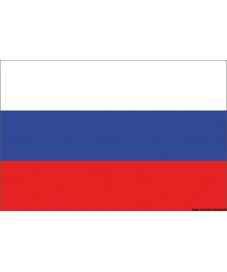 Pavillon Russie 50 x 75 cm en tissu de polyester teintes indélébiles