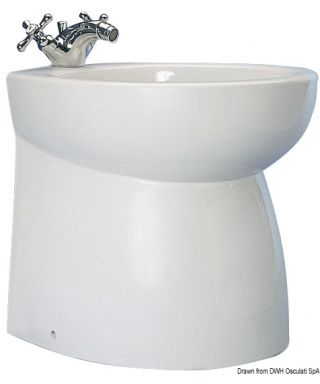 Bidet ceramique SILENT haut droit