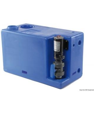 Réservoir eaux usées avec broyer 24V 72 L