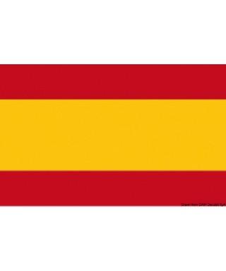 Pavillon Espagne 50 x 75 cm en tissu de polyester teintes indélébiles