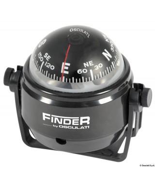 """Compas Finder 2"""" avec étrier noir/noir"""