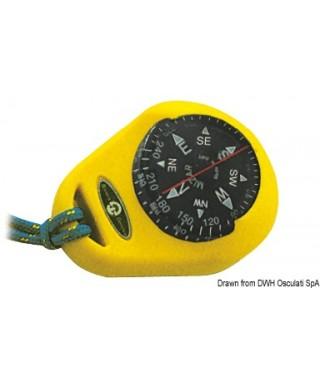 Compas RIVIERA Mizar avec boîtier souple jaune