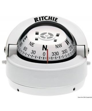 """Compas externe RITCHIE Explorer 2""""3/4 Corps blanc Rose blanc"""