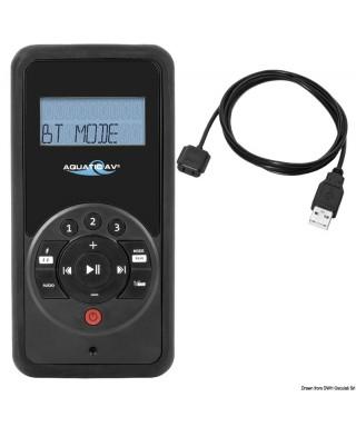 Télécommande portable avec câble USB étanche IP66 portée 12 m écran RF