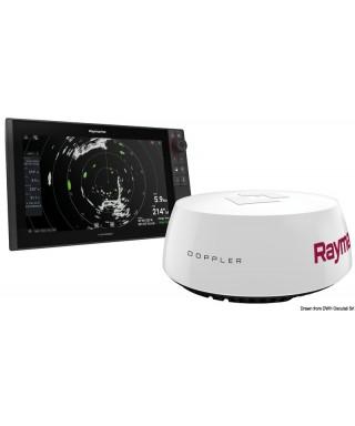 """Quantum Q24D Radar Doppler 18 """" avec 10m câbles d'alimentation"""