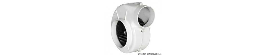 Aspirateur centrifuge pour fixation avec étrier homologué RINA