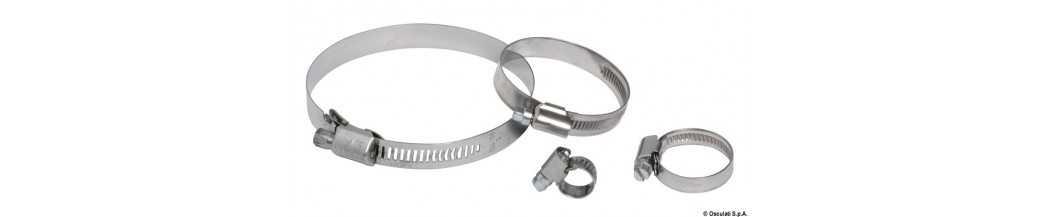 Colliers de serrage Inox 316 à dents forgées
