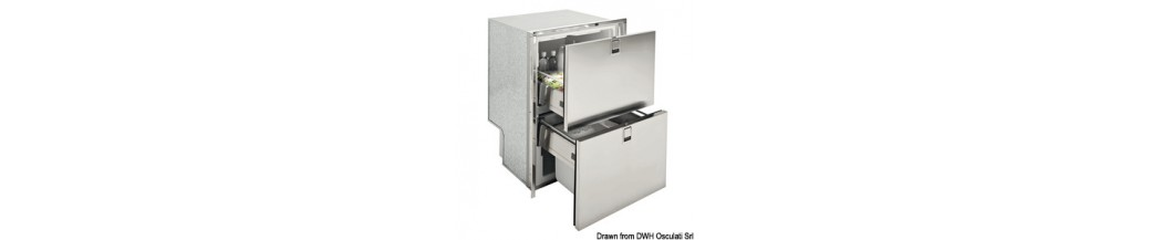 Frigo/réfrigérateur ISOTHERM Drawer inox