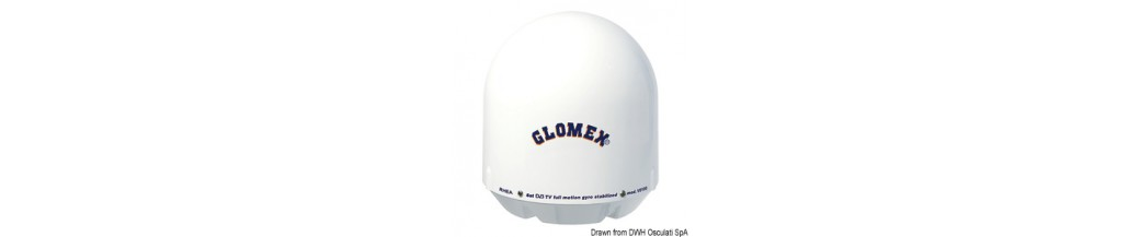Antenne TV satellite GLOMEX Rhea