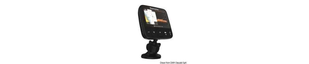 RAYMARINE Dragonfly - Sonar 5' et 7' GPS et traceur de cartes DownVision ™ CHIRP affiche avec deux canaux