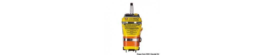 GME MT403 et MT603G version manuelle EPIRB